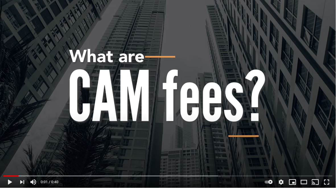 What are CAM Fees?